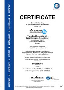transbest - Qualität und Zertifizierungen